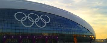 Geotub used for concrete columns at Bolshoy Ice Dome in Sochi