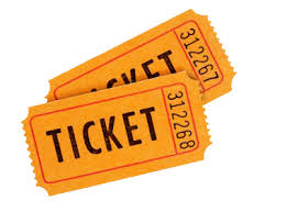 Image result for pics of tickets