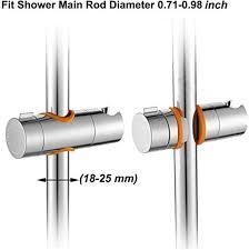 Maydahui <b>2PCS</b> Universal <b>Hand</b> Shower Bracket Holder <b>Adjustable</b> ...