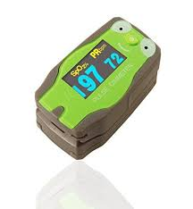 Amazon.com: Pediatric Green Frog <b>Digital Finger</b> Pulse Oximeter for ...