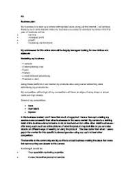 an example of a business plan my business is to start up a online  page  zoom in