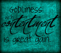 Image result for contentment in Christ