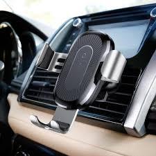 <b>Baseus Gravity Car Phone</b> Holder QI Wireless Charger Dashboard ...
