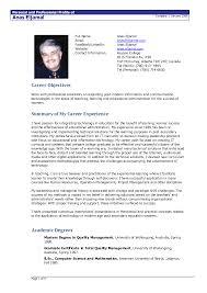 CV Template Malmo Designscrazed