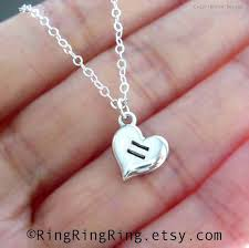 Same-sex Marriage support necklace - Equal Love <b>Heart necklace</b> ...