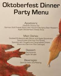 Oktoberfest Dinner Party - Pinterest Inspired | Fall Is In The Air ...