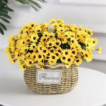 Best value Artificial <b>Sunflower</b> with Vase – Great deals on Artificial ...