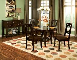 cherry color dining table