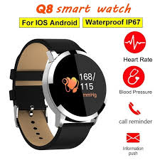 <b>NEWWEAR Q8 Smart Watch</b> NRF52832 Chip Blood Oxygen ...