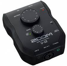Купить Ручной <b>аудиоинтерфейс ZOOM U</b>-22 с бесплатной ...
