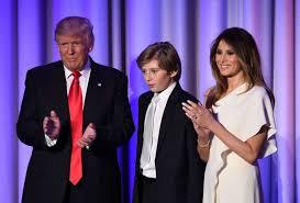 「19 Barron Trump」の画像検索結果
