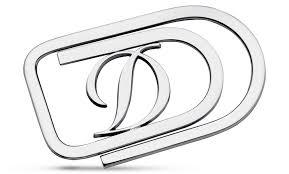 "<b>Зажим для денег S.T. Dupont</b> S.T. Dupont, в виде буквы ""D ..."