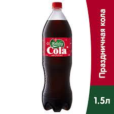 <b>Напиток Holiday Кола 1.5</b> литра, газ, пэт, 6 шт. в уп. - купить в ...