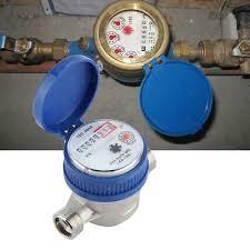 <b>1</b>/2 <b>inch</b> Water Meter <b>Copper</b> 1.5m³/h 0-40℃ Water <b>Flow</b> Gauge ...