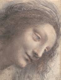 leonardo da vinci 1452 1519 essay heilbrunn timeline of art head of the virgin in three quarter view facing right