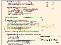 macbeth annotations macbeth 6 act 2 scene 2 a little water