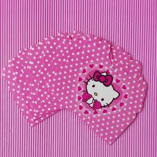 compare prices on hello kitty invitation card online shopping buy 10pc lot cartoon hello kitty invitation card children s birthday party supplies and event decoration party