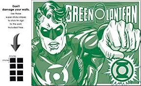 Shop72 <b>Tin</b> Sign DC Comic Green Lantern Super <b>Hero Metal Tin</b> ...