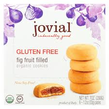 Jovial Gluten Free <b>Fig Fruit</b> Filled <b>Organic Cookies</b> - Case of 10 - 7 oz