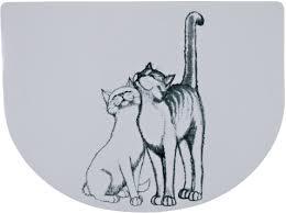 """<b>Коврик под миску Trixie</b> """"Кошечка"""", 40 х 30 см"""
