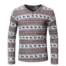 <b>MarKyi</b> fashion pattern t-shirt <b>men</b> funny 2019 spring new v-neck hip ...