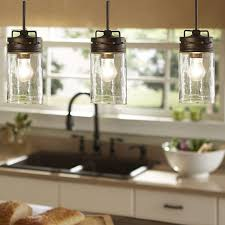 shop allen roth vallymede aged bronze country cottage mini clear glass jar pendant in the pendant lighting section of awesome designing clear glass mini pendant lights