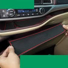 <b>lsrtw2017 fiber leather car</b> dashboard slot cup mat for toyota ...