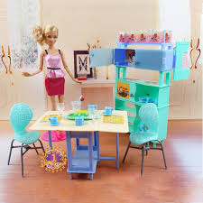 christmas gift present play toy doll house dining room furniture for 16 bjd simba barbie doll house furniture sets