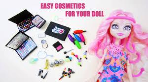 make doll make up shadow blush pact lipstick eye liner mascara perfume nail polish