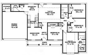Story Ranch House Plans        Home Plan Design     One story bedroom  bath traditional ranch style house plan   House