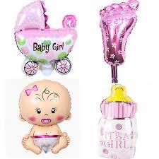 <b>4pcs</b>/<b>set</b> Angel <b>Baby</b> shower foil balloons Boys <b>Girls</b> Birthday Party ...