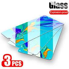 Buy <b>3Pcs</b>/<b>lot Full Cover</b> Tempered Glass for Huawei P20 Pro P30 ...
