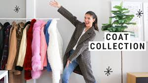 My <b>Fall</b>/Winter <b>COAT</b> COLLECTION!! (Fashion Inspo) - YouTube