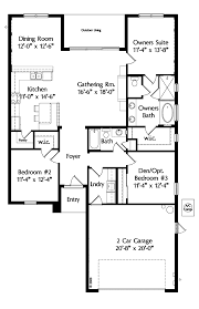 House Plan at FamilyHomePlans comMediterranean House Plan Level One