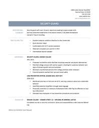 resume templates resume sample security guard resumes security officer resume tips templates and samples federal correctional officer resume sample correctional officer qualifications resume