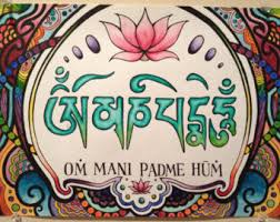 Image result for om mani padme hum
