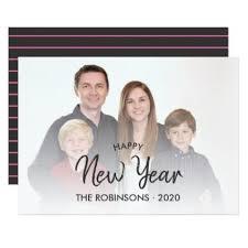 <b>Handwriting</b> overlay Happy New Year <b>family</b> photo Card - overlay ...