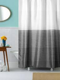 <b>Штора для ванной Niklen</b> Омбре, 00-00002195, серый, 180 х 178 см