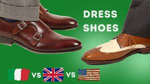 <b>Italian</b> vs. American vs. English <b>Men's Dress</b> Shoes & What ...