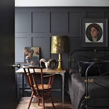 panel show bedroom ideas dark