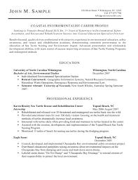 environmentalist resume coastal environmentalist resume