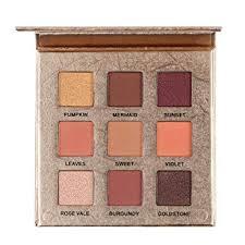 Shimmer Eyeshadow Palette <b>9 Colors Professional Eye</b> Shadow ...