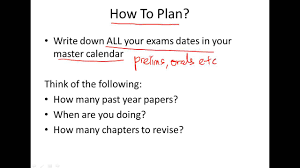 how to plan exam revision schedule how to plan exam revision schedule