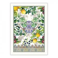 <b>Michel Design Works</b> Tea Towel Tuscan Grove