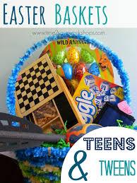 easter baskets for teens amp tweens  frugal ideas