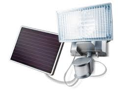 <b>Solar</b>-<b>Powered 150 LED</b> Motion-Activated <b>Outdoor</b> Security Floodlight