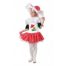 <b>Батик Карнавальный костюм Грибок-девочка</b> Карнавальная ночь ...