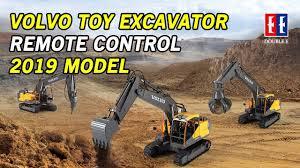 Toy Excavator Remote Control Double Eagle | Volvo Replica!! (2019 ...