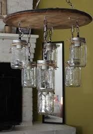whiskey barrel mason jar chandelier by whiskeylights on etsy 49900 diy vintage mason jar chandelier