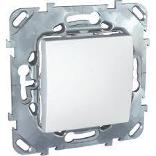 UNICA <b>Переключатель одноклавишный</b> в рамку белый <b>Schneider</b> ...